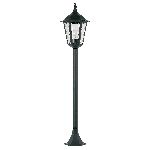 Endon Burford YG-3008 Pillar/Post Lantern Black